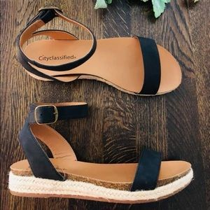 Espadrille Boutique Sandals by City Classified